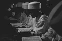 Étudiants musulmans Photo libre de droits