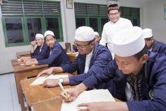 Étudiants musulmans Photographie stock libre de droits