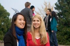 Étudiants universitaires photos stock