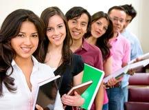 Étudiants universitaires Image libre de droits