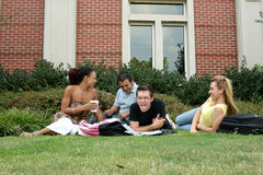 étudiants universitaires Photographie stock libre de droits
