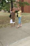 étudiants universitaires Photo libre de droits