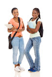 Étudiants universitaires africains Image stock