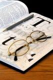 Étudiez le temps Photographie stock libre de droits