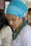 Événement annuel du marché d'art folklorique à Santa Fe, nanomètre Etats-Unis Photos libres de droits