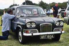 Événement classique de vintage de voiture de Humber Photos libres de droits