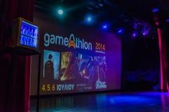 Événement 2014 d'Athlon de jeu Photo libre de droits
