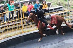 Événement de concours hippique à Taïwan Photographie stock libre de droits