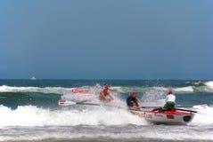 Événement de défi de maître nageur de Kwazulu Natal Photographie stock