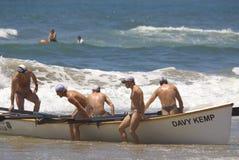 Événement de défi de maître nageur de Kwazulu Natal Images stock
