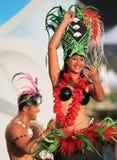 Événement de danse d'Oire Nikao d'îles Cook photographie stock