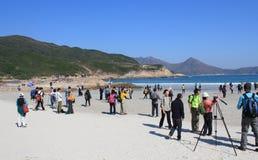 Événement de hausse blême de Hong Kong Tai Long Sai Photo libre de droits