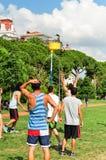 Événement de Korfball d'été à Istanbul Photographie stock libre de droits