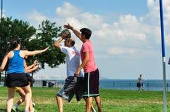 Événement de Korfball d'été à Istanbul Image stock