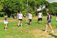 Événement de Korfball d'été à Istanbul Photo libre de droits