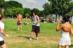 Événement de Korfball d'été à Istanbul Image libre de droits