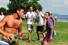 Événement de Korfball d'été à Istanbul Images stock