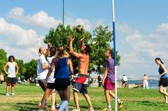 Événement de Korfball d'été à Istanbul Photos stock
