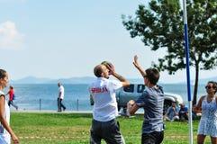 Événement de Korfball d'été à Istanbul Photos libres de droits