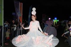 Événement de Mardi Gras Arts en parc en Hong Kong Photographie stock libre de droits