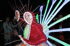 Événement de Mardi Gras Arts en parc en Hong Kong Photos libres de droits