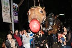 Événement de Mardi Gras Arts en parc en Hong Kong Images stock