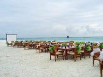 Événement de plage Photo libre de droits