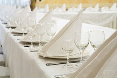 Événement de restaurant Banquet, mariage, célébration Photo stock