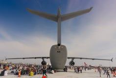 Événement 2018 de salon de l'aéronautique d'Euroasia dans Antlya, Turquie Images stock