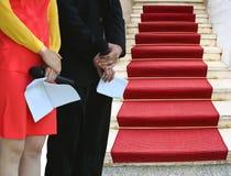Événement de tapis rouge Images stock