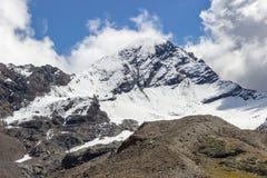 Événement de temps Nuages convecteurs en montagne Images libres de droits