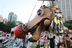 Événement des arts en parc Mardi Gras en Hong Kong 2014 Photos stock