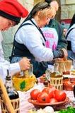 Événement gastronomique espagnol images stock