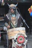 Événement traditionnel de représentation de musique de l'Indonésie à Taïwan Photographie stock libre de droits