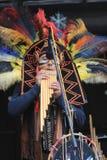 Événement traditionnel de représentation de musique de l'Indonésie à Taïwan Photo stock
