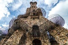 Évêque Castle San Isabel National Forest Colorado Photo stock