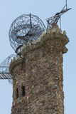 Évêque Castle San Isabel National Forest Colorado Images libres de droits