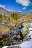 Évêque Creek en avril images libres de droits