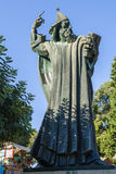 Évêque croate Gregorius de sculpture de Nin Photographie stock