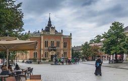 Évêque Palace à Novi Sad, Serbie photographie stock libre de droits