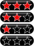 Évaluation d'étoiles Images libres de droits
