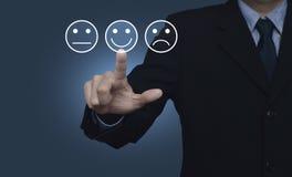 Évaluation de service de client professionnel et concept d'estimation de rétroaction image stock