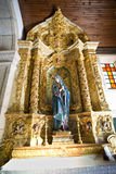Évalue la chapelle de Senhor DA Praca Image stock