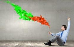 Évaluez l'expression de couleur Images libres de droits