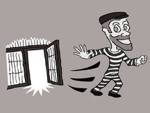 Évasion ! Illustration Libre de Droits
