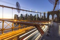 Évasion de Rushhour de New York images libres de droits