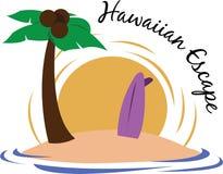 Évasion hawaïenne Images libres de droits