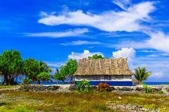 Éventer l'île, République du Kiribati photos libres de droits