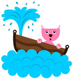 Éviers de chat Images stock