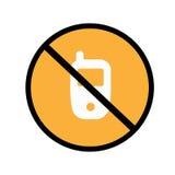 Évitez le téléphone portable Photos libres de droits